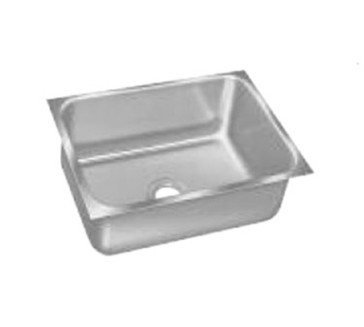 "Advance Tabco 1014B-05 Undermount Sink - 10x14x5"" Bowl, 20-ga 304-Stainless"