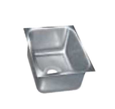 "Advance Tabco 1824A-14A Undermount Sink - 18x24x14"" Bowl, 14-ga 304-Stainless"