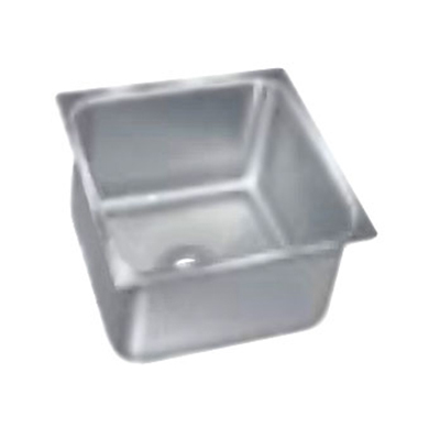 "Advance Tabco 2020A-14 Undermount Sink - 20x20x14"" Bowl, 18-ga 304-Stainless"