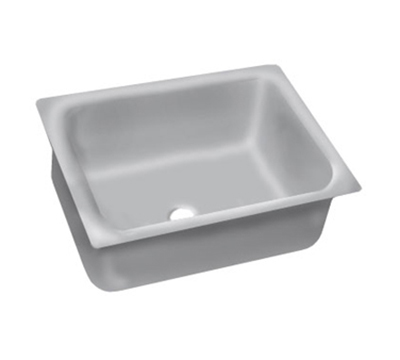 "Advance Tabco 2028A-14A Undermount Sink - 20x28x14"" Bowl, 14-ga 304-Stainless"