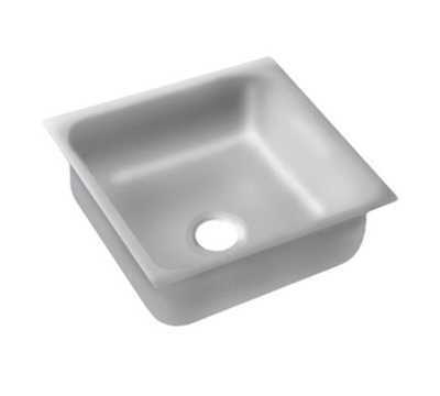 "Advance Tabco 2424A-14A Undermount Sink - 24x24x14"" Bowl, 14-ga 304-Stainless"