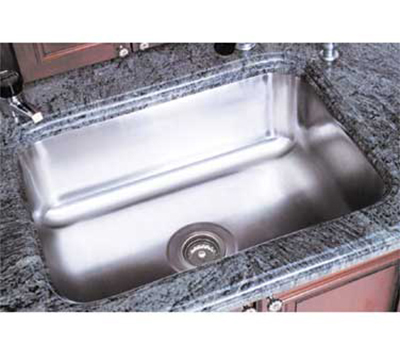 "Advance Tabco CO1014A10RE Weld"" Sink Bowl for Under Mount, 10"