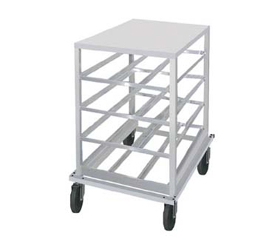 Advance Tabco CR10-54 Low Profile Mobile Can Rack for #10, #5 - 54-Can Capacity, A