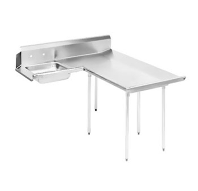 "Advance Tabco DTS-D60-60R 59"" R-L Dishlanding Soil Dishtable - 10.5&"