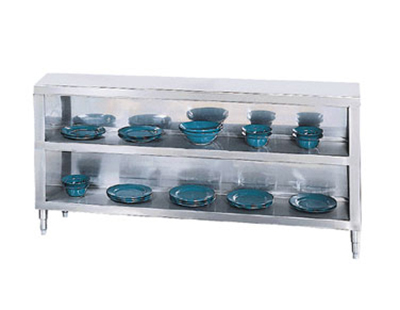 Advance Tabco DC-188 Chefs Table Dish Cabinet -