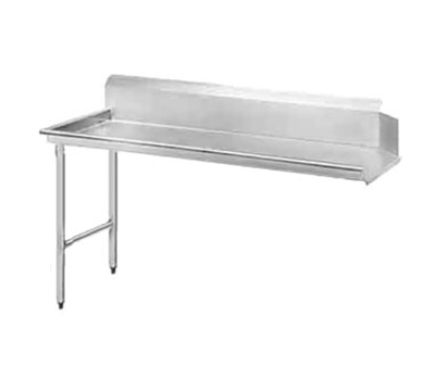 "Advance Tabco DTC-S30-60L Straight Dishtable - R-L Operation, Stainless Legs, 59x30x34"", 14-ga 304-Stainl"