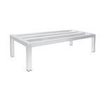 Advance Tabco DUN-2048-8 Square Bar Dunnage Rack - 1-Tier, 1500-lb Capacity, 20x48x8