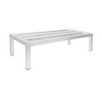 Advance Tabco DUN-2448 Square Bar Dunnage Rack - 1-Tier, 1800-lb Capacity, 24x48x12