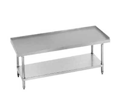 "Advance Tabco ES-304 Equipment Stand - Adjustable Undershelf, 48x30x24"", 14-ga 304-Stainless"