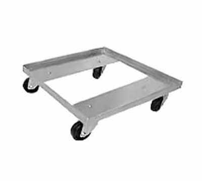 "Advance Tabco GRD-1 Single Stack Dolly Rack - 400-lb Capacity, 3"" Plate Caster, 20."