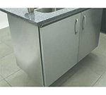 """Advance Tabco IBSS244MRE 48"""" Residential Island Base - Customizable Top Not Included, 24"""" W"""