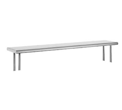 "Advance Tabco OTS-10-84 84"" Old Style Table Mount Shelf - 1-Deck, 10"" W, 18-ga 430-"