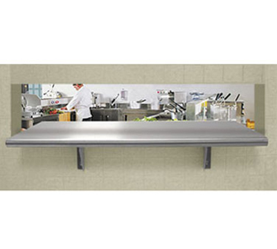 Advance Tabco PA-24-144 Pass-Thru Stainless Shelf - 24x144