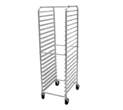 "Advance Tabco PR20-3W Mobile Pan Rack - Holds (20) 18x26"" Pans, Full Height, Front Load"
