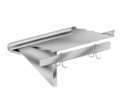 "Advance Tabco PS-15-120 120"" Shelf w/ P"