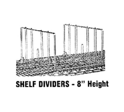 Advance Tabco SD-14 Shelf Divider,