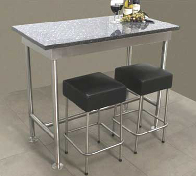 "Advance Tabco TB365RE 60"" Residential Table Base - 36"" W, Stainless"