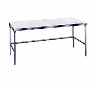 "Advance Tabco TSPT-309 108"" Work Table - 30"" W, Stainle"