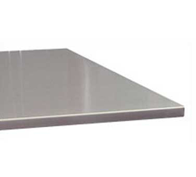 "Advance Tabco VSTC2410RE Residential Flat Countertop - Square Edge, 25x120"", 16-ga 304-Stainless"