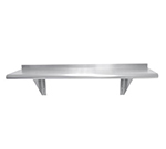 "Advance Tabco WS-18-48 Wall Mount Shelf - 18x48"", 18-ga 430-Stainless"