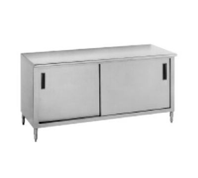Advance Tabco CB-SS-364 1441-in Work Table w/ Cabinet Base Restaurant Supply
