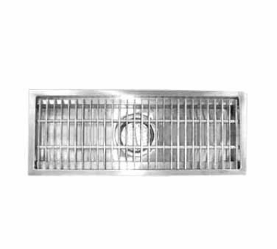 Advance Tabco FFTG-2430 Floor Trough 24 in W 4 in D 30 in L Restaurant Supply