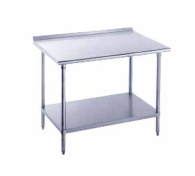 Advance Tabco FSS-300 30 x 30 in L Table Adjustable Undershelf SS Restaurant Supply
