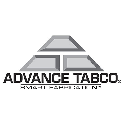 "Advance Tabco KAG-240 30"" Work Table - Galvanized Frame, 5"" Backsplash, 24"" W, 16-ga 430-Stainless"