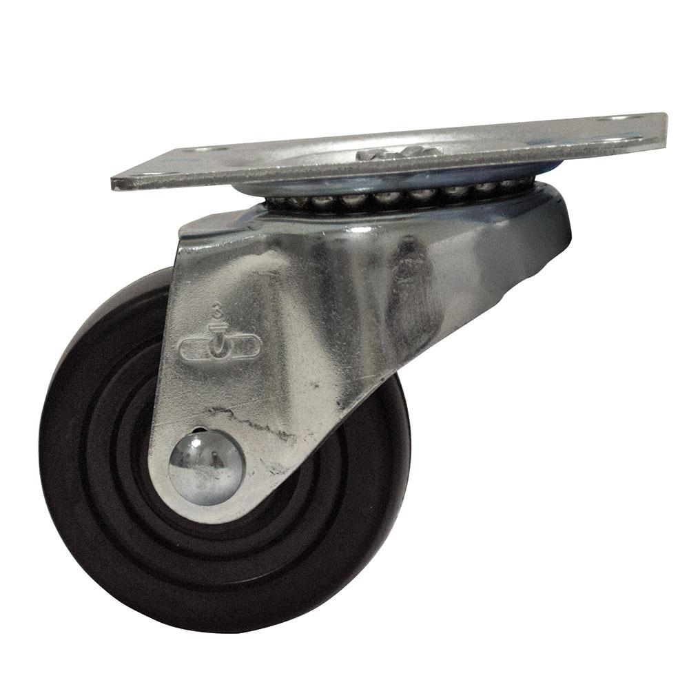 """Advance Tabco RA-50 Bun Pan Dolly Caster, 3"""" Diameter"""