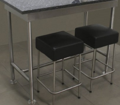 """Advance Tabco TB2410RE 120"""" Residential Table Base - 24"""" W, Stainless"""