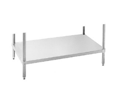 Advance Tabco UG-24-84 24 x 84 in L Work Table Undershelf Restaurant Supply