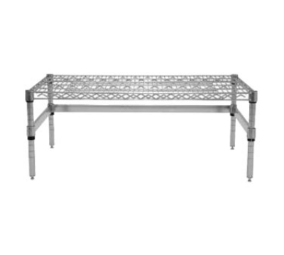 "Advance Tabco WDRC-2436 36"" Dunnage Rack - 3-Sided Frame, Chrome"