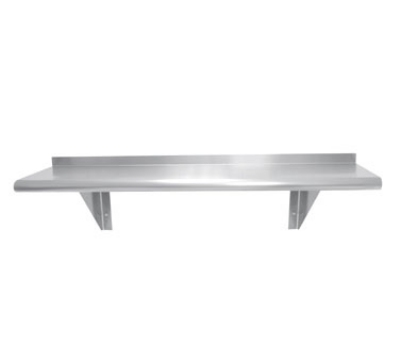 Advance Tabco WS-12-96 12 in x 96 in L Wall Mounted Shelf Stainless Steel Restaurant Supply