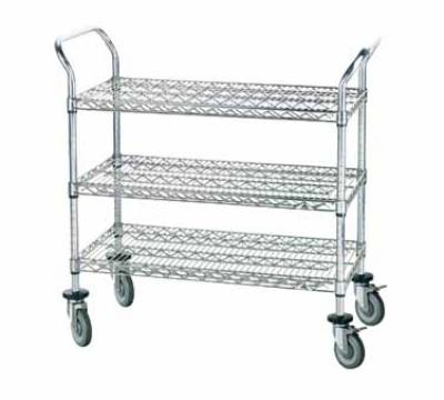 Advance Tabco WUC-2436PRE Residential Wire Utility Car Restaurant Supply