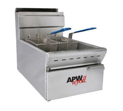 APW Wyott APW-F25C Countertop Gas Fryer - (1) 25-lb Vat, NG