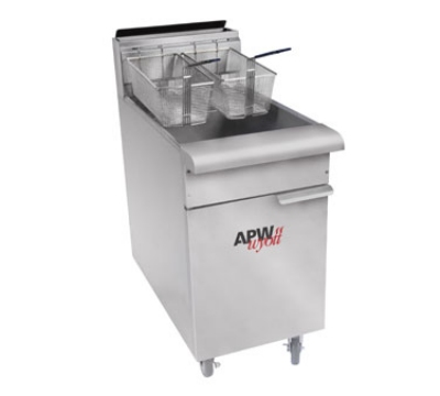 APW Wyott APW-F4050 40 To 50-lb Floor Model Fryer, NG