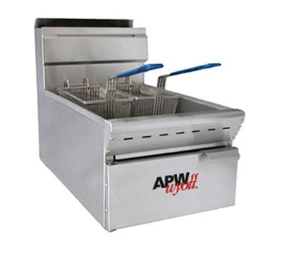 APW Wyott APW-F15C Countertop Fryer w/ 15-lb  Capacity, 40,000-BTU, NG