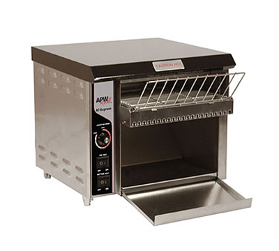 APW Wyott XTRM-1 Countertop Conveyor Toaster, 1.5-in Opening, 350 Units/Hr, 240 V