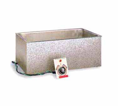 APW Wyott BM80D Hot Food Well Unit w/ Drain, Wet Or Dry Operation, Built-In, Bottom Mount