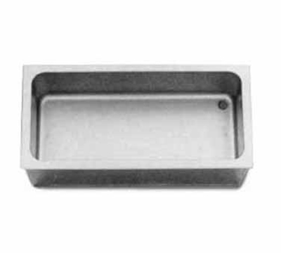 APW Wyott CFW-1 Drop In Cold Food Unit, For (1) 12 x 20 in Pan, Stainless Inner Liner