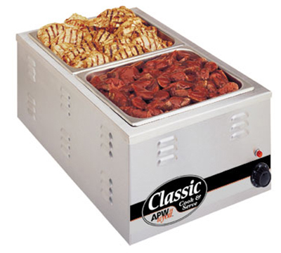 APW Wyott CW-2AI Countertop Cooker, Warmer, & Server w/ 22-Quart Pan, Wet/Dry Heat, Export