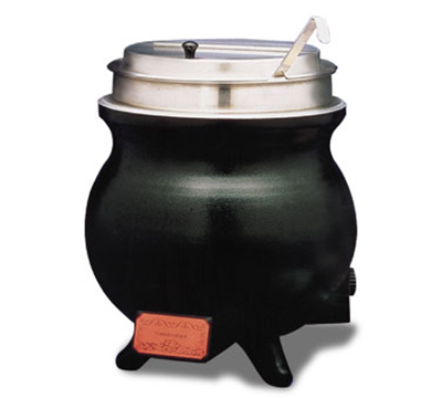APW Wyott WK-1V PKG 11 QT Soup Kettle, Inset & Cover, Name Cards, 240 V