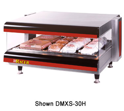 APW Wyott DMXS-30H 30-in Horizontal Merchandiser Warmer, 1-Shelf, 120 V