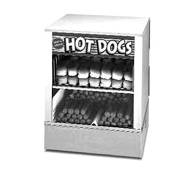 APW Wyott DS-1AP Hot Dog Steamer, Self-Service, Bun Steamer/Warmer