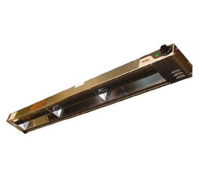 APW Wyott FD-66H-I 120 66 in Heat Lamp Single Rod 1800 High Watt Infinite Control 120 V Restaurant Supply