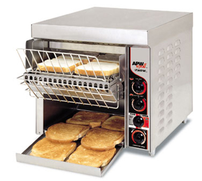 APW Wyott FT-1000H Conveyor Toaster, 3-in Opening, 1000 Units/Hr, 240 V