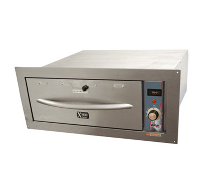 APW Wyott HDDI-1B Built-In Warming Drawer w/ 1-Pan Capacity, Thermostatic Controls, 120