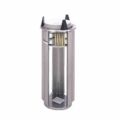 APW Wyott L-5 Drop In Dish Dispenser w/ Open Frame, 1-Tube,