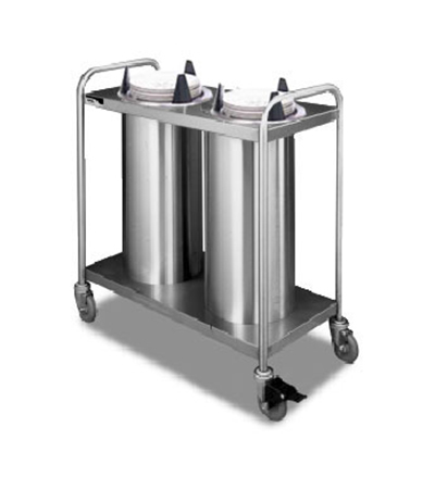APW TL3-9 Lowerator Triple Dish Dispenser Mobile Restaurant Supply