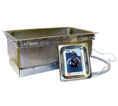 APW Wyott TM-90D UL Drop-In Food Warmer w/ Drain & Wet & Dry Operation, 208/240 V